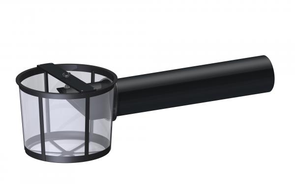 Filterkorb für Flachtank mit PE-Rohr