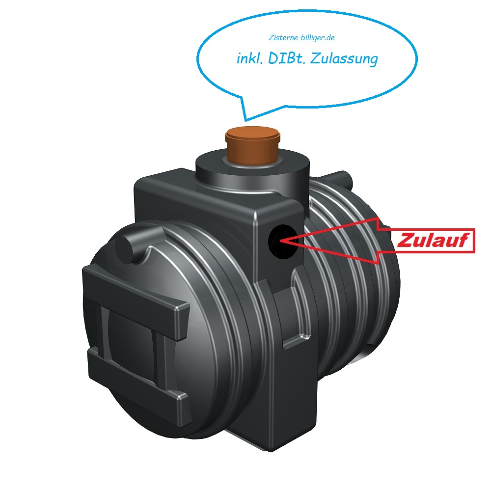 Turbo Abwassertank mit DIBt | Abwasser-Lösungen | Zisterne-Billiger.de DR94