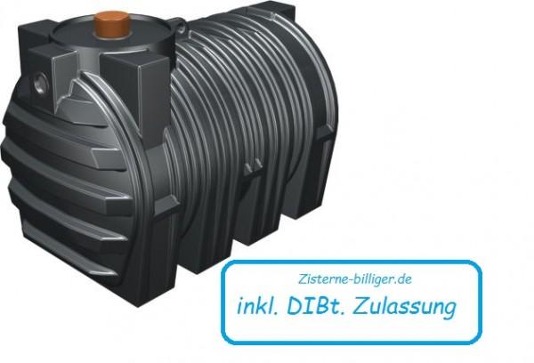 3000 Liter Abwassertank MV mit DIBt Zulassung