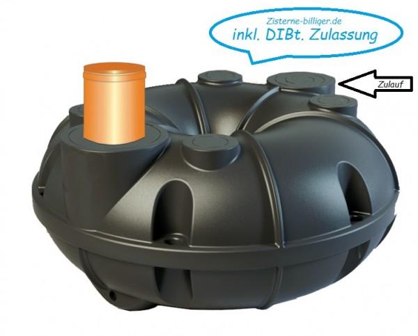 800 Liter Torus Flachtank Abwassertank inkl. DIBt-Zulassung Rewatec
