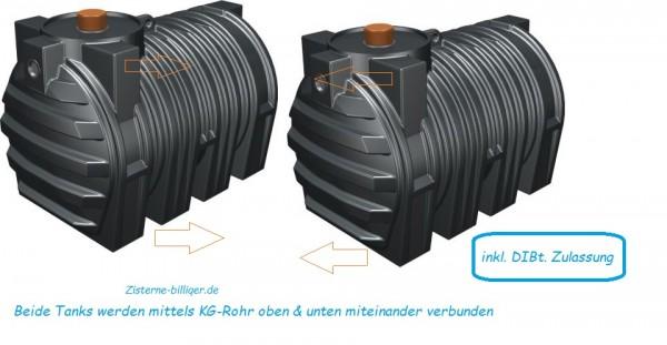 6000 L Kombitank MV mit DIBt-Zulassung