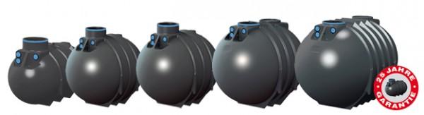 2600 - 10000 Liter BlueLine 2 Rewatec Erdtank Zisterne Regenwassertank